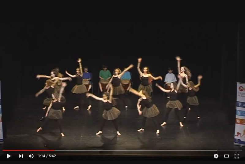 Dance performance video link